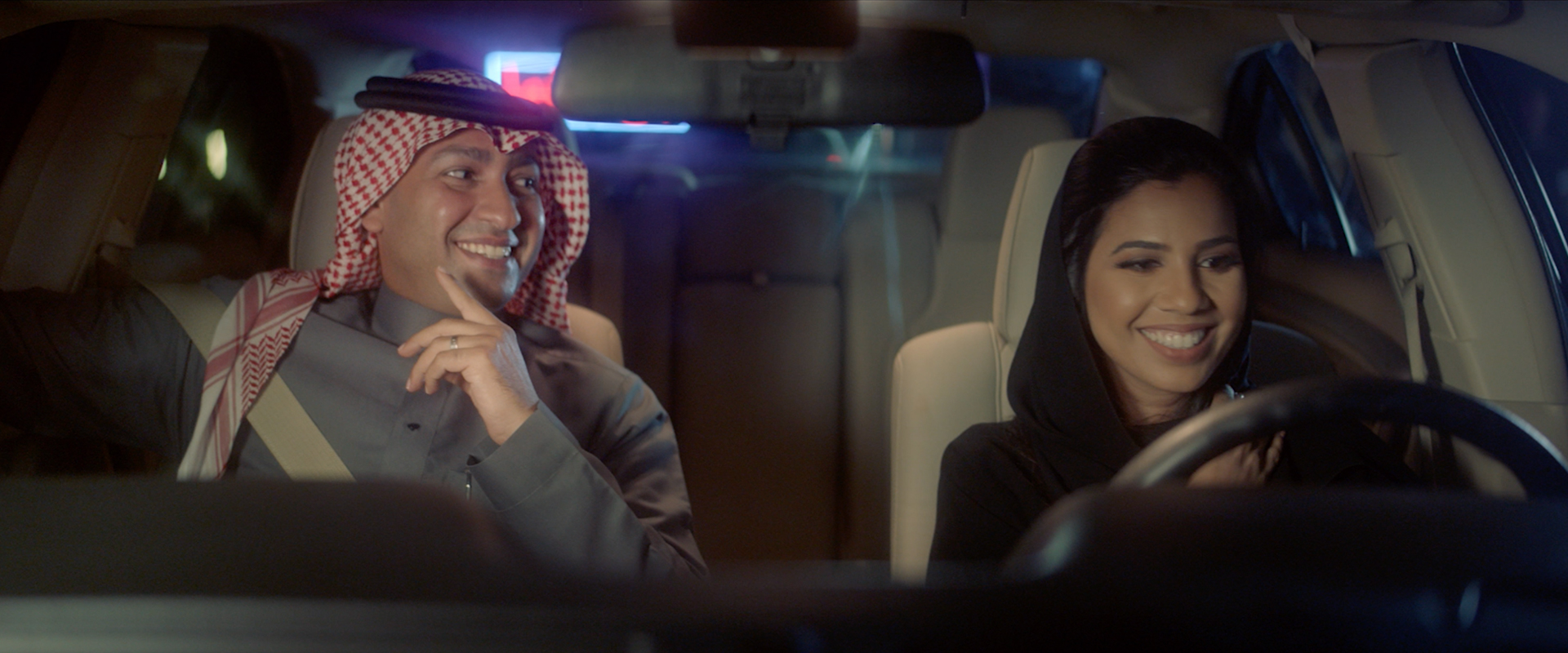 Are men ready for women drivers in Saudi Arabia?, Shell